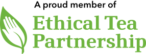 A proud member of Ethical Tea Partnership