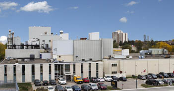 Manufacturing facility in Mississauga, ON, Canada